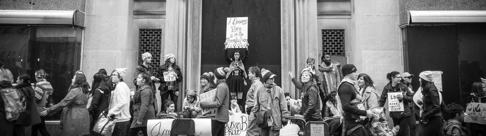 A Woman's Place is In The Revolution photo by Sam Killermann